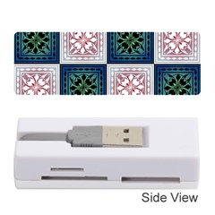 Background Colour Flower Box Memory Card Reader (stick)  by AnjaniArt