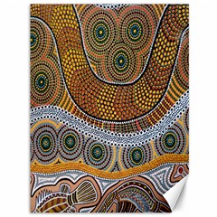 Batik Canvas 36  X 48   by AnjaniArt