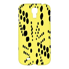 Circular Dot Selections Circle Yellow Samsung Galaxy S4 I9500/i9505 Hardshell Case by AnjaniArt