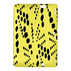 Circular Dot Selections Circle Yellow Kindle Fire Hdx 8 9  Hardshell Case by AnjaniArt