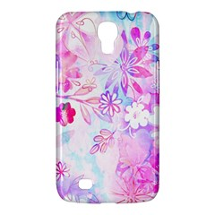 Watercolor Fairy Flowers Samsung Galaxy Mega 6 3  I9200 Hardshell Case by KirstenStar