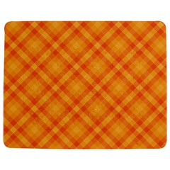 Clipart Orange Gingham Checkered Background Jigsaw Puzzle Photo Stand (rectangular) by AnjaniArt