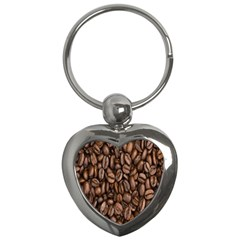 Coffee Beans Key Chains (heart)  by AnjaniArt