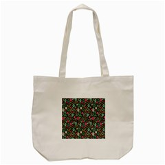 Floral Flower Flowering Rose Tote Bag (cream) by AnjaniArt