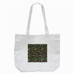 Floral Flower Flowering Rose Tote Bag (white) by AnjaniArt