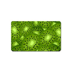Fruit Kiwi Green Magnet (name Card) by AnjaniArt