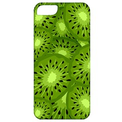 Fruit Kiwi Green Apple Iphone 5 Classic Hardshell Case by AnjaniArt