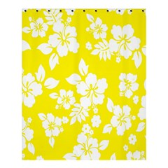 Hawaiian Flowers Shower Curtain 60  X 72  (medium)  by AnjaniArt