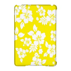 Hawaiian Flowers Apple iPad Mini Hardshell Case (Compatible with Smart Cover) by AnjaniArt