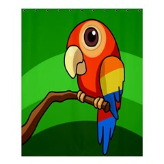 Parrots Pinterest Shower Curtain 60  X 72  (medium)  by AnjaniArt