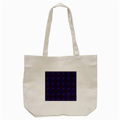 Background Colour Blue Flower Tote Bag (cream) by AnjaniArt