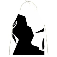 Mountaineering Climbing Pictogram  Full Print Aprons by abbeyz71