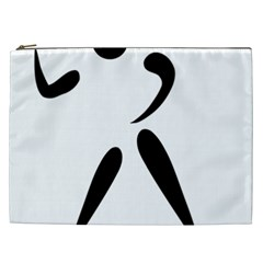 American Football Pictogram  Cosmetic Bag (xxl)  by abbeyz71