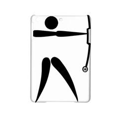 Archery (compound) Pictogram Ipad Mini 2 Hardshell Cases by abbeyz71