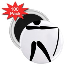 Archery Pictogram 2 25  Magnets (100 Pack)  by abbeyz71