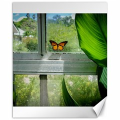 Butterfly #17 Canvas 16  X 20   by Papillon