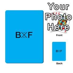 Backwards & Forwards By Devin Maddox   Multi Purpose Cards (rectangle)   1jcixoxc9poy   Www Artscow Com Back 23