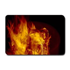 Ablaze Abstract Afire Aflame Blaze Small Doormat