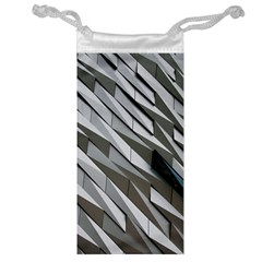 Abstract Background Geometry Block Jewelry Bag by Amaryn4rt