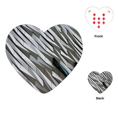 Abstract Background Geometry Block Playing Cards (heart)  by Amaryn4rt