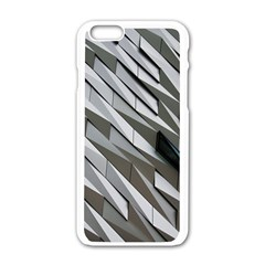 Abstract Background Geometry Block Apple Iphone 6/6s White Enamel Case by Amaryn4rt