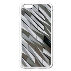 Abstract Background Geometry Block Apple Iphone 6 Plus/6s Plus Enamel White Case by Amaryn4rt