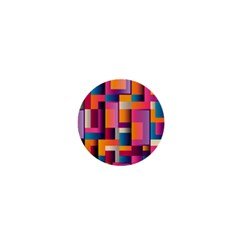 Abstract Background Geometry Blocks 1  Mini Buttons