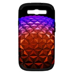 Abstract Ball Colorful Colors Samsung Galaxy S Iii Hardshell Case (pc+silicone) by Amaryn4rt