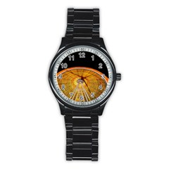 Abstract Blur Bright Circular Stainless Steel Round Watch by Amaryn4rt