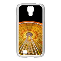 Abstract Blur Bright Circular Samsung Galaxy S4 I9500/ I9505 Case (white) by Amaryn4rt