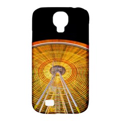 Abstract Blur Bright Circular Samsung Galaxy S4 Classic Hardshell Case (pc+silicone) by Amaryn4rt