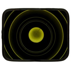 Abstract Futuristic Lights Dream Netbook Case (xxl)  by Amaryn4rt