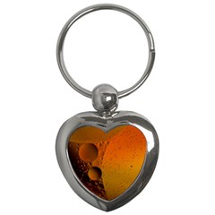 Abstraction Color Closeup The Rays Key Chains (heart)  by Amaryn4rt