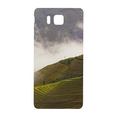 Agriculture Clouds Cropland Samsung Galaxy Alpha Hardshell Back Case by Amaryn4rt