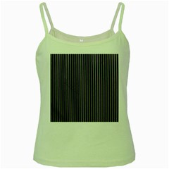 Background Lines Design Texture Green Spaghetti Tank by Amaryn4rt