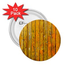 Background Wood Lath Board Fence 2 25  Buttons (10 Pack)  by Amaryn4rt