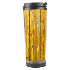Background Wood Lath Board Fence Travel Tumbler by Amaryn4rt