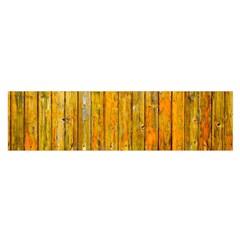 Background Wood Lath Board Fence Satin Scarf (oblong) by Amaryn4rt