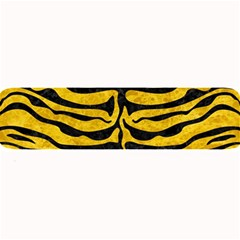 Skin2 Black Marble & Yellow Marble (r) Large Bar Mat by trendistuff