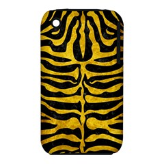 Skin2 Black Marble & Yellow Marble Apple Iphone 3g/3gs Hardshell Case (pc+silicone) by trendistuff