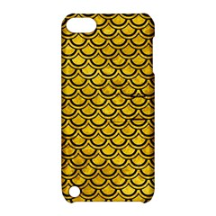 Scales2 Black Marble & Yellow Marble (r) Apple Ipod Touch 5 Hardshell Case With Stand by trendistuff