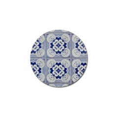 Ceramic Portugal Tiles Wall Golf Ball Marker (10 pack) by Amaryn4rt