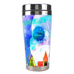 Dirty Dirt Spot Man Doll View Stainless Steel Travel Tumblers by Amaryn4rt