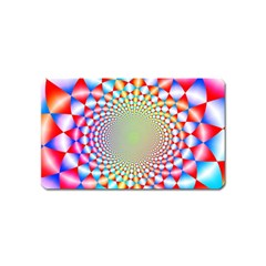 Color Abstract Background Textures Magnet (name Card) by Amaryn4rt