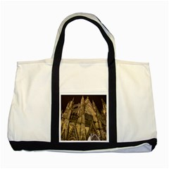 Cologne Church Evening Showplace Two Tone Tote Bag