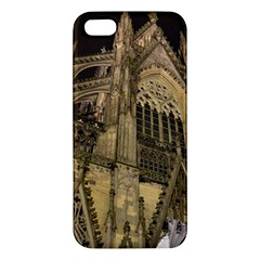 Cologne Church Evening Showplace Apple Iphone 5 Premium Hardshell Case