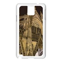 Cologne Church Evening Showplace Samsung Galaxy Note 3 N9005 Case (white)
