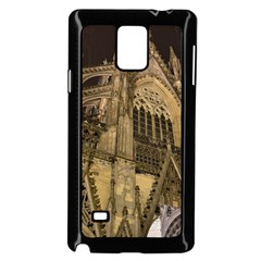 Cologne Church Evening Showplace Samsung Galaxy Note 4 Case (black) by Amaryn4rt