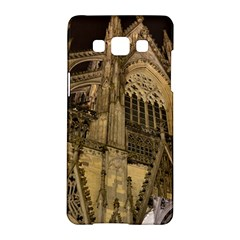 Cologne Church Evening Showplace Samsung Galaxy A5 Hardshell Case  by Amaryn4rt