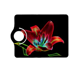 Flower Pattern Design Abstract Background Kindle Fire Hd (2013) Flip 360 Case by Amaryn4rt